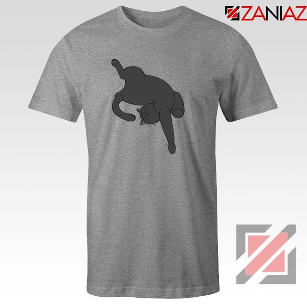Sleeping Kitten Sport Grey Tshirt
