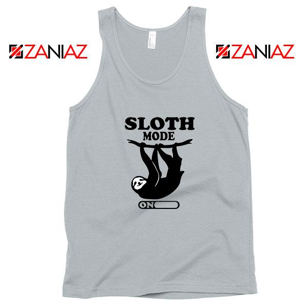 Sloth Mode Sport Grey Tank Top
