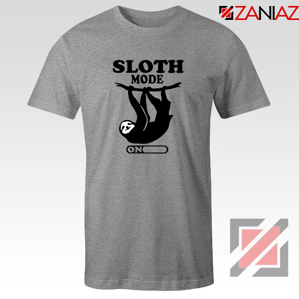 Sloth Mode Sport Grey Tshirt