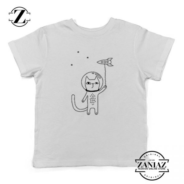 Space Cat Kids Tshirt