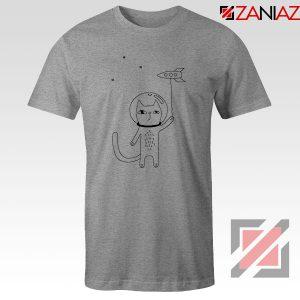 Space Cat Sport Grey Tshirt