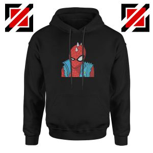 Spider Punk Black Hoodie