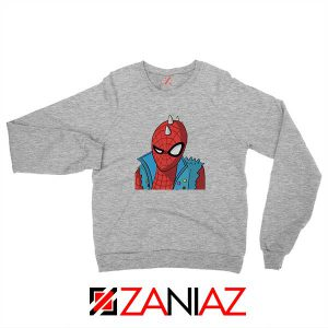 Spider Punk Sport Grey Sweatshirt