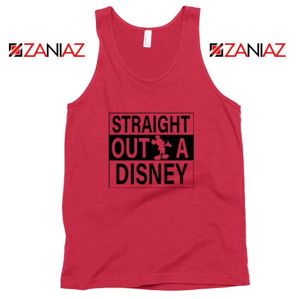 Straight Outta Disney Red Tank Top