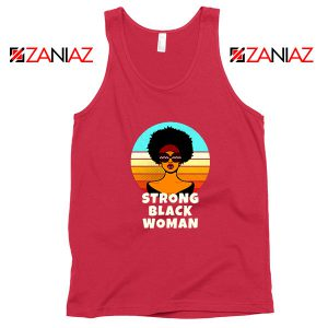 Strong Black Woman Red Tank Top