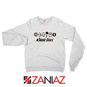 Superheros Squad Goals Sweatshirt