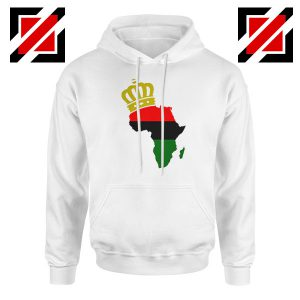 The African Flag Continent Hoodie