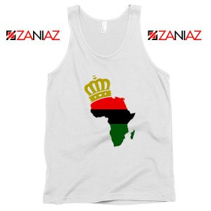 The African Flag Continent Tank Top