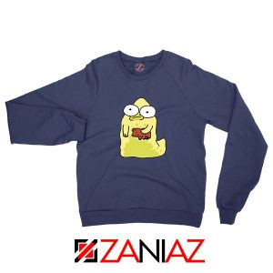 The Pupa Bear Navy Blue Sweatshirt
