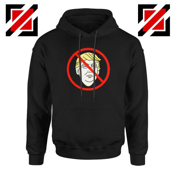 Trump Prohibited Black Hoodie