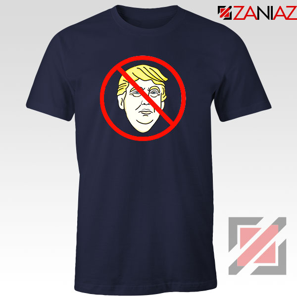 Trump Prohibited NAvy Blue Tshirt
