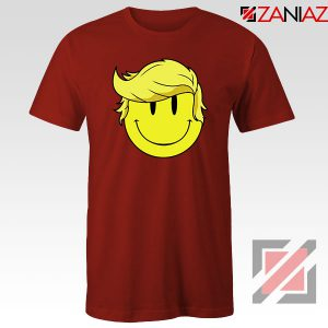 Trump Smiley Emoji Red Tshirt