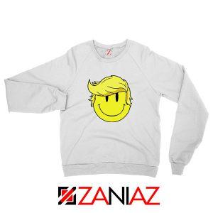 Trump Smiley Emoji Sweatshirt