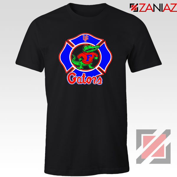 UF Gators Firefighter Black Tshirt