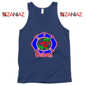 UF Gators Firefighter Navy Blue Tank Top