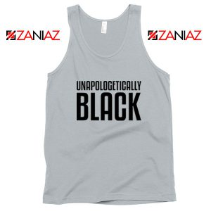Unapologetically Black Sport Grey Tank Top