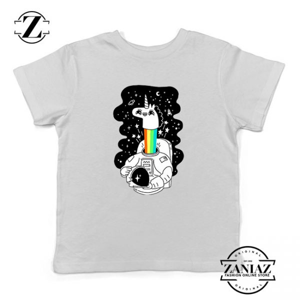 Unicorn In Space Kids Tshirt