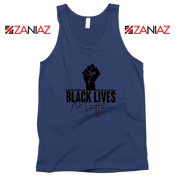 Until We Have Justice For All Navy Blue Tank Top