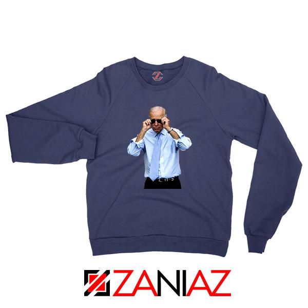 Vice President Joe Biden Navy Blue Sweatshirt