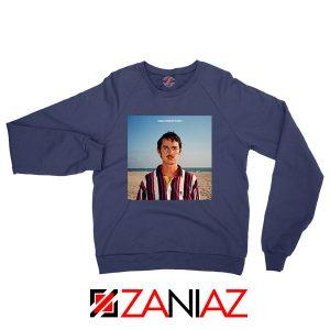 Wallows 1980s Horror Film Navy Blue Sweatshirt