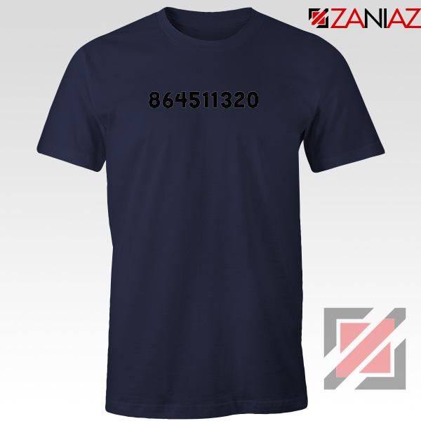 864511320 Dump Trump Navy Blue Tshirt