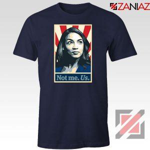 AOC Activist Vote 2020 Navy Blue Tshirt