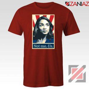 AOC Activist Vote 2020 Red Tshirt