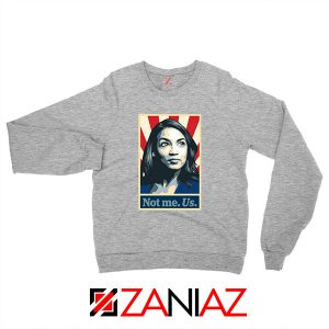 AOC Activist Vote 2020 Sport Grey Sweatshirt