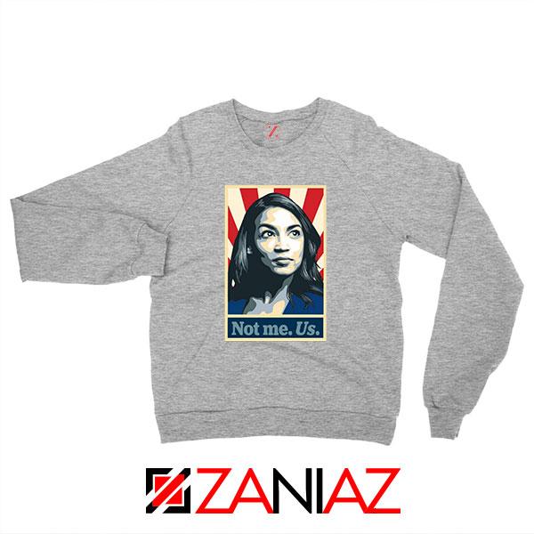 AOC Activist Vote 2020 Sport Grey Sweatshirt