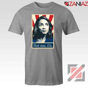 AOC Activist Vote 2020 Sport Grey Tshirt