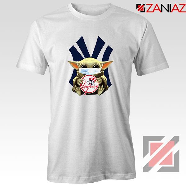 Baby Yoda New York Yankees Tshirt