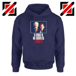 Biden Harris 2020 Navy Blue Hoodie