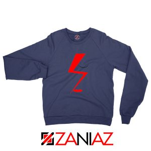 Bowie Face Navy Blue Sweatshirt