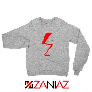 Bowie Face Sport Grey Sweatshirt