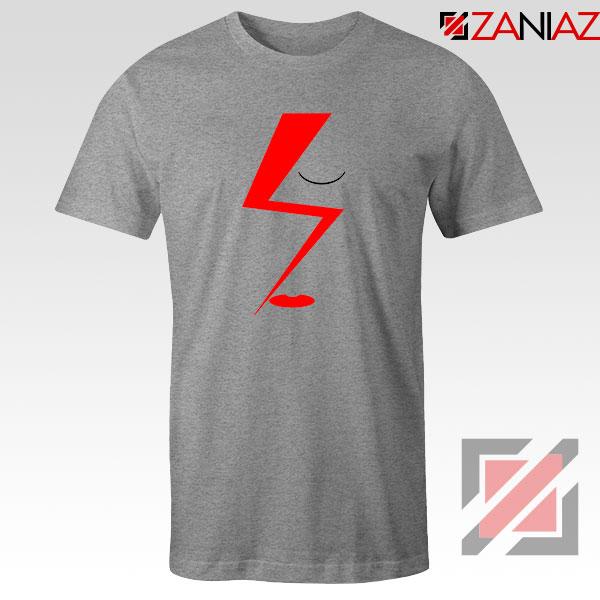 Bowie Face Sport Grey Tshirt