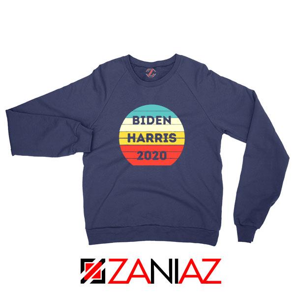 Buy Biden Harris 2020 Navy Blue Sweatshirt