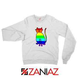 Cat Rainbow Sweatshirt