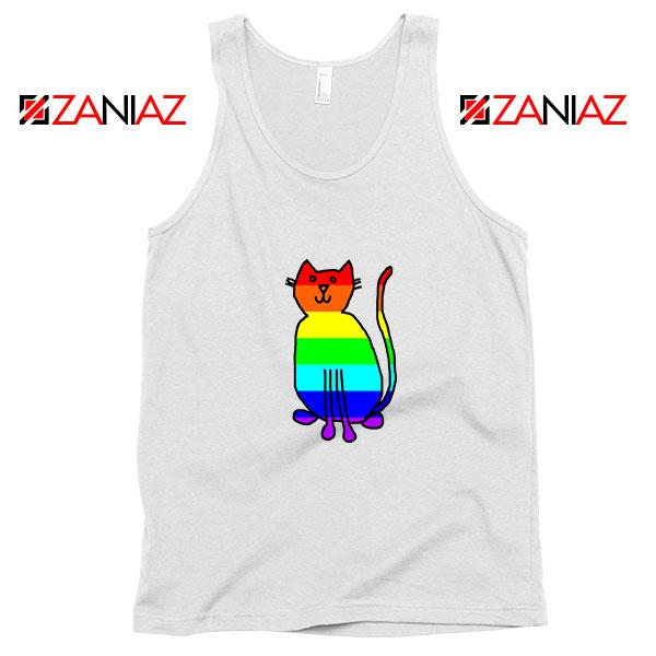 Cat Rainbow Tank Top