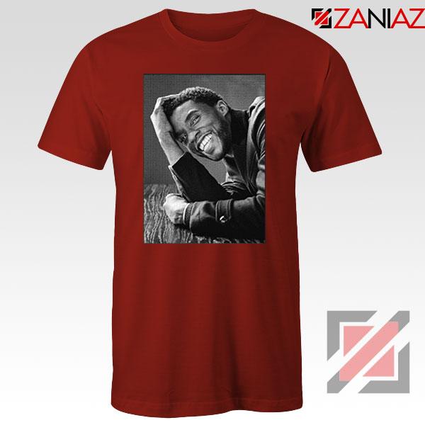 Chadwick Boseman RIP Red Tshirt