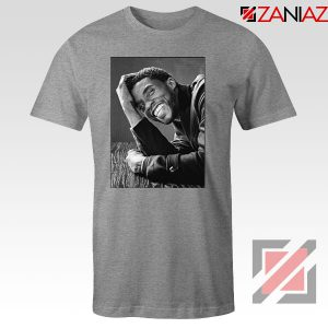 Chadwick Boseman RIP Sport Grey Tshirt