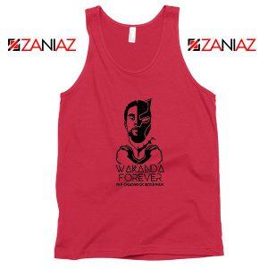 Chadwick Wakanda Forever Red Tank Top
