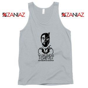 Chadwick Wakanda Forever Sport Grey Tank Top