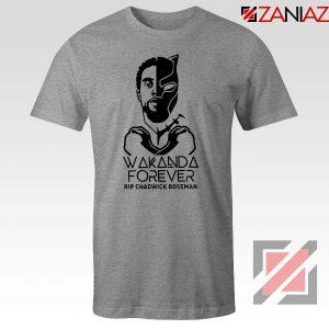 Chadwick Wakanda Forever Sport Grey Tshirt