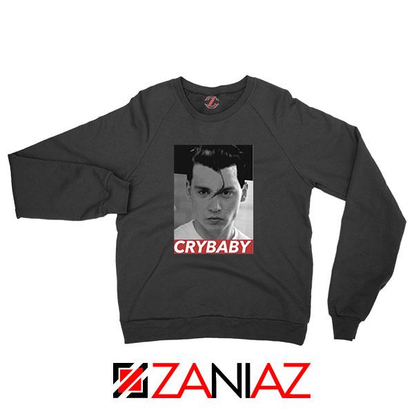 Cry Baby Johnny Depp Black Sweatshirt,