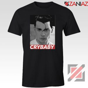 Cry Baby Johnny Depp Black Tshirt