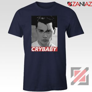 Cry Baby Johnny Depp Navy Blue Tshirt