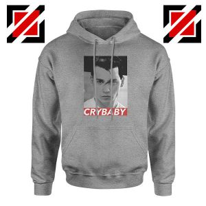 Cry Baby Johnny Depp Sport Grey Hoodie