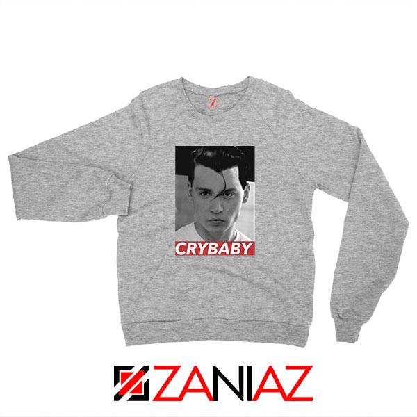 Cry Baby Johnny Depp Sport Grey Sweatshirt,
