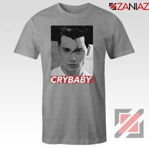 Cry Baby Johnny Depp Sport Grey Tshirt