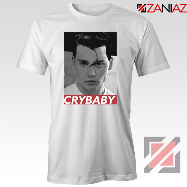 Cry Baby Johnny Depp Tshirt